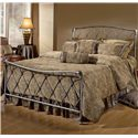 Morris Home Furnishings Metal Beds Queen Silverton Bed - Item Number: 1298BQR