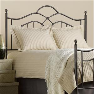 Morris Home Furnishings Metal Beds Full/Queen Oklahoma Headboard