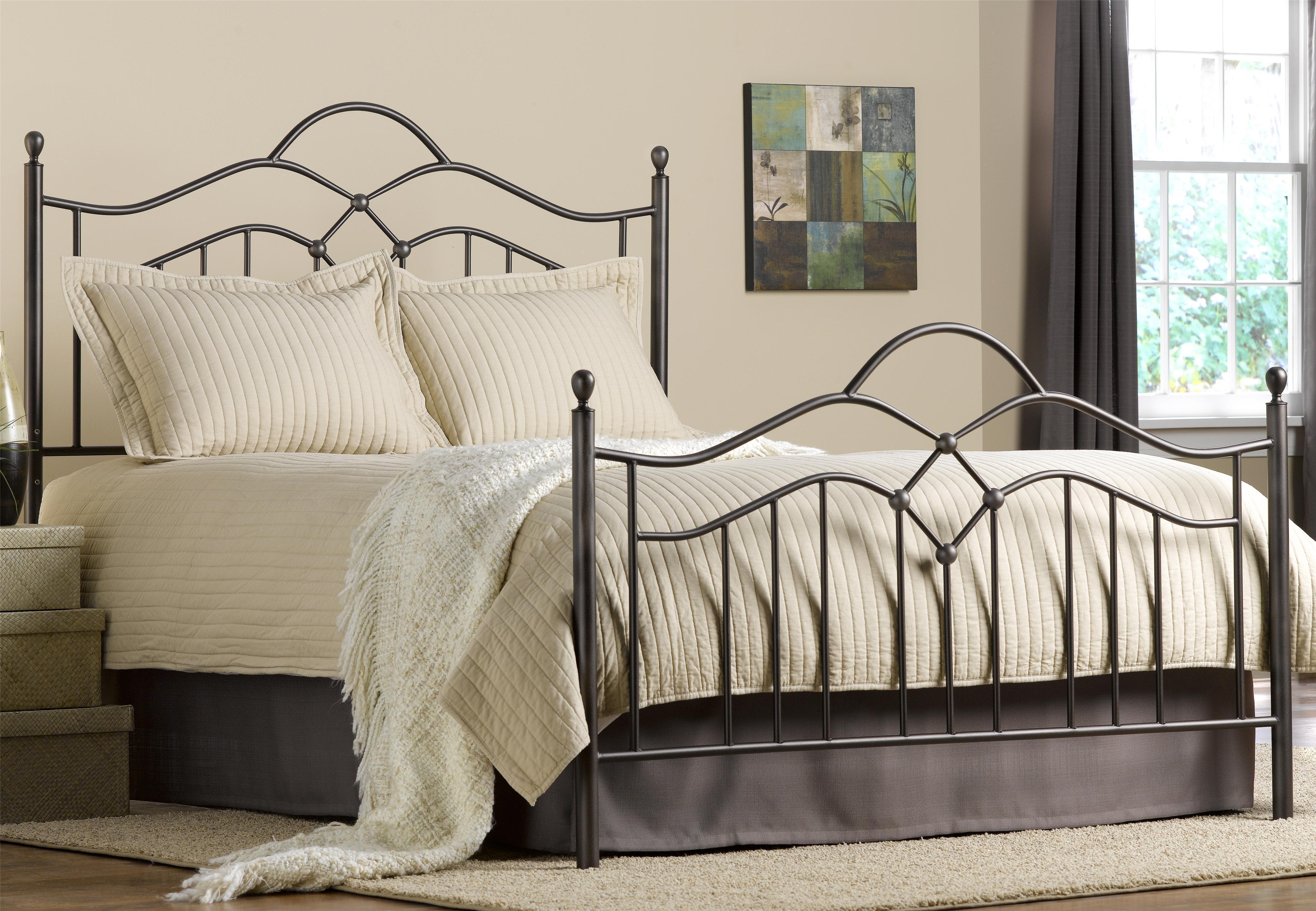 Hillsdale Metal Beds King Oklahoma Bed - Item Number: 1300BKR
