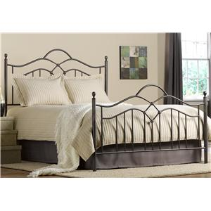 Morris Home Furnishings Metal Beds Queen Oklahoma Bed