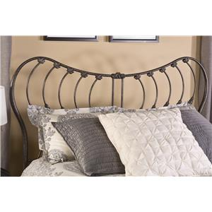 Hillsdale Metal Beds Bennington Queen Headboard with Rails