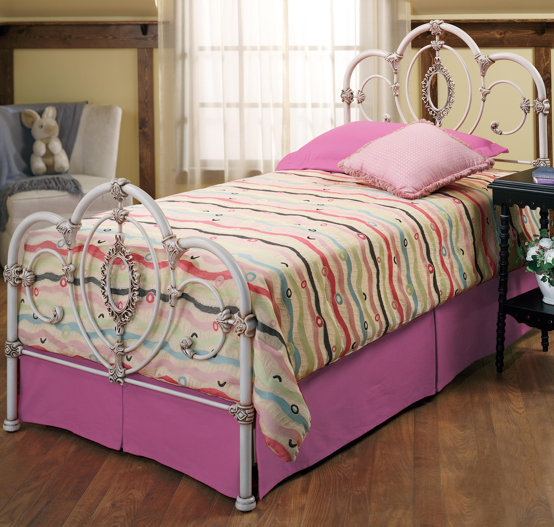 Hillsdale Metal Beds Twin Victoria Bed - Item Number: 1310BTWR