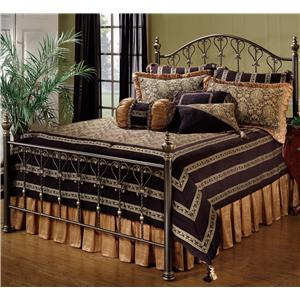 Morris Home Furnishings Metal Beds Queen Huntley Bed