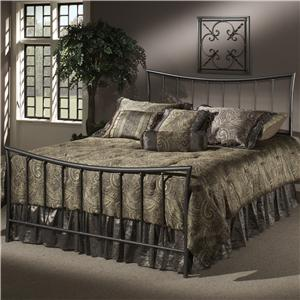 Morris Home Furnishings Metal Beds Queen Edgewood Bed