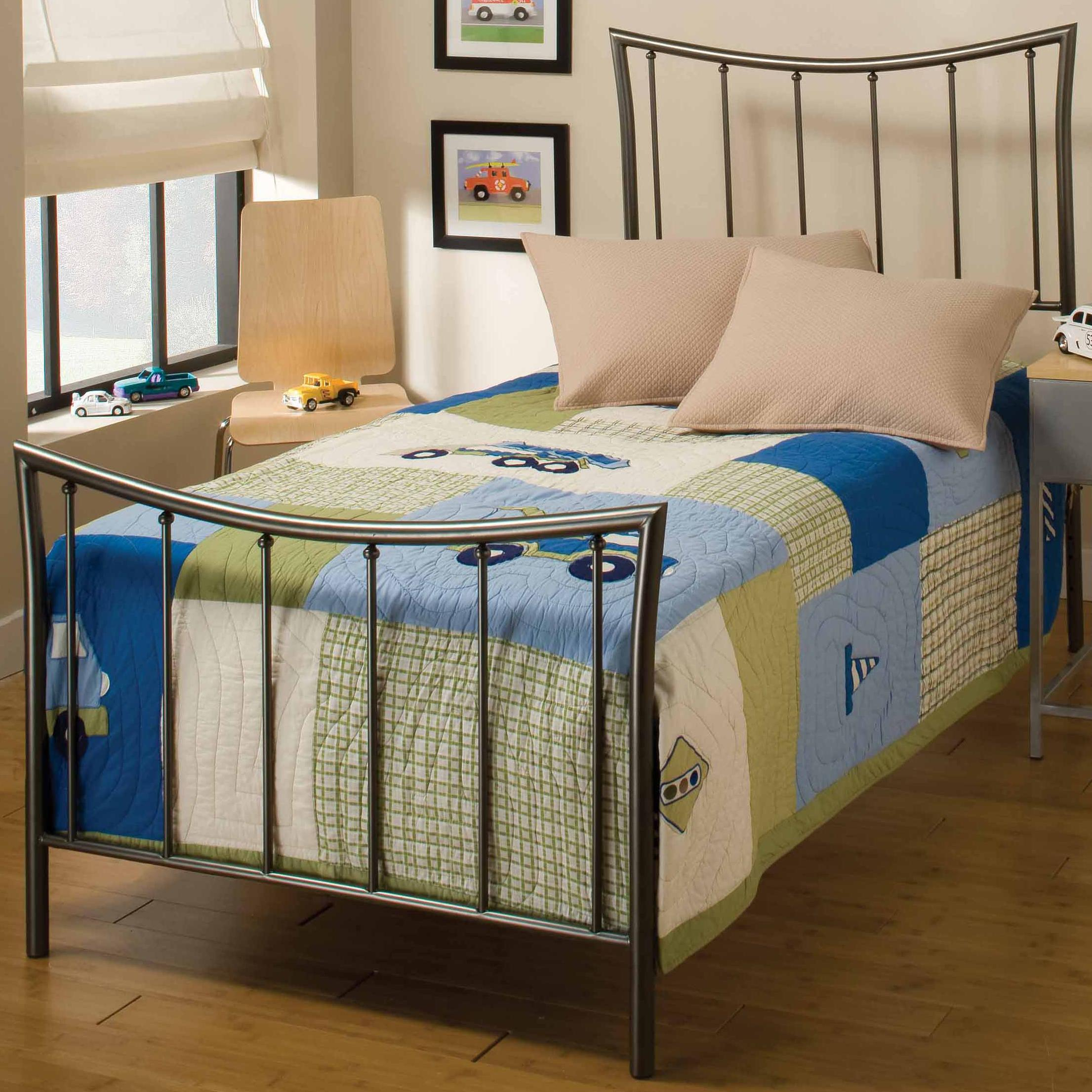 Hillsdale Metal Beds Twin Edgewood Bed - Item Number: 1333BTWR