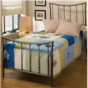 Morris Home Furnishings Metal Beds Twin Edgewood Bed - Item Number: 1333BTWR