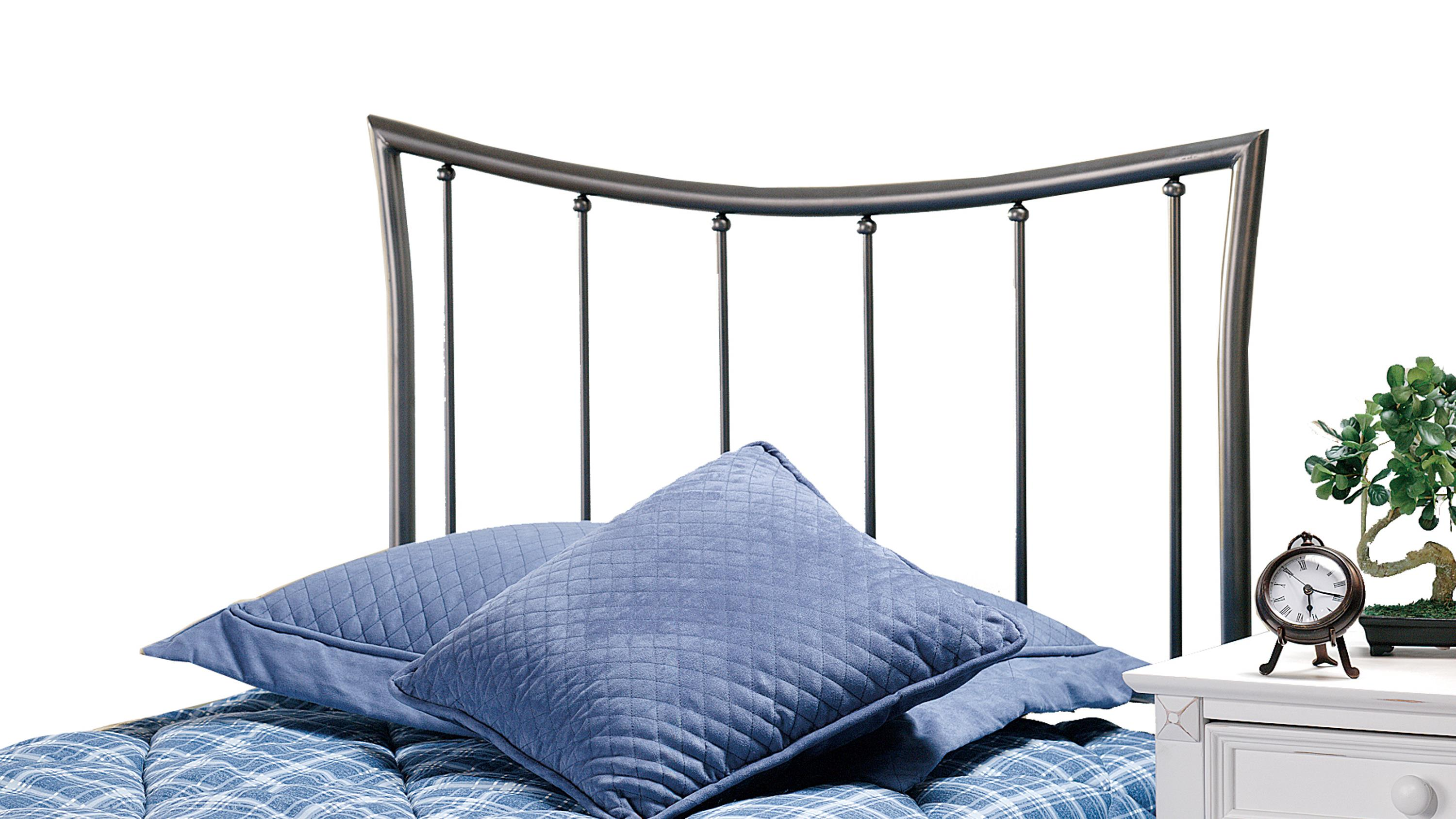 Hillsdale Metal Beds Edgewood King Headboard with Rails - Item Number: 1333HKR