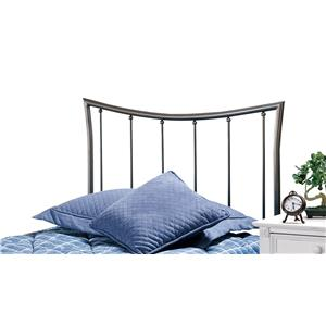 Hillsdale Metal Beds Edgewood Twin Headboard with Rails