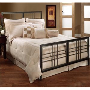 Morris Home Furnishings Metal Beds Queen Tiburon Bed