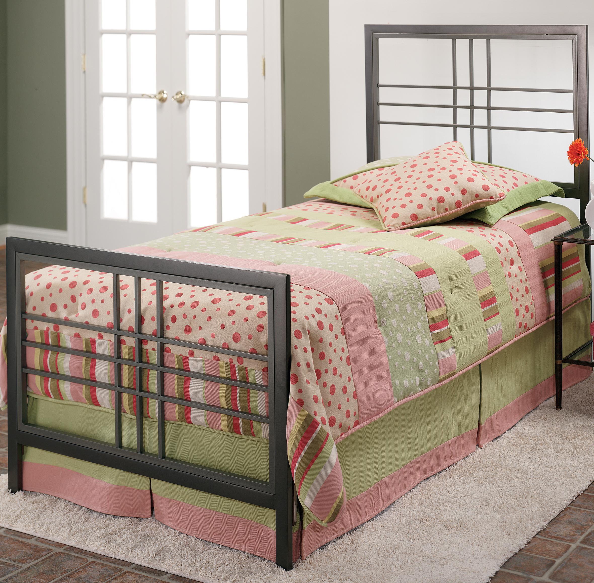 Hillsdale Metal Beds Twin Tiburon Bed - Item Number: 1334BTWR