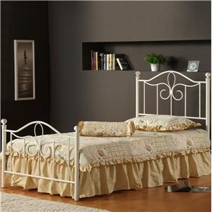 Morris Home Furnishings Metal Beds Full Westfield Bed