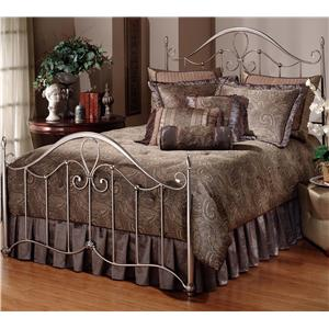 Morris Home Metal Beds Queen Doheny Bed