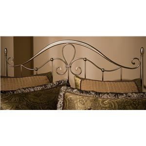 Morris Home Furnishings Metal Beds Doheny King Headboard with Rails