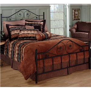 Morris Home Furnishings Metal Beds Queen Harrison Bed