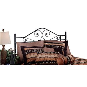 Morris Home Metal Beds Harrison King Headboard with Rails