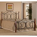 Hillsdale Metal Beds King Milwaukee Wood Post Bed - Item Number: 1422BKRP