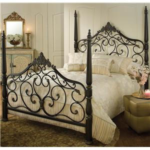 Morris Home Furnishings Metal Beds Queen Parkwood Bed