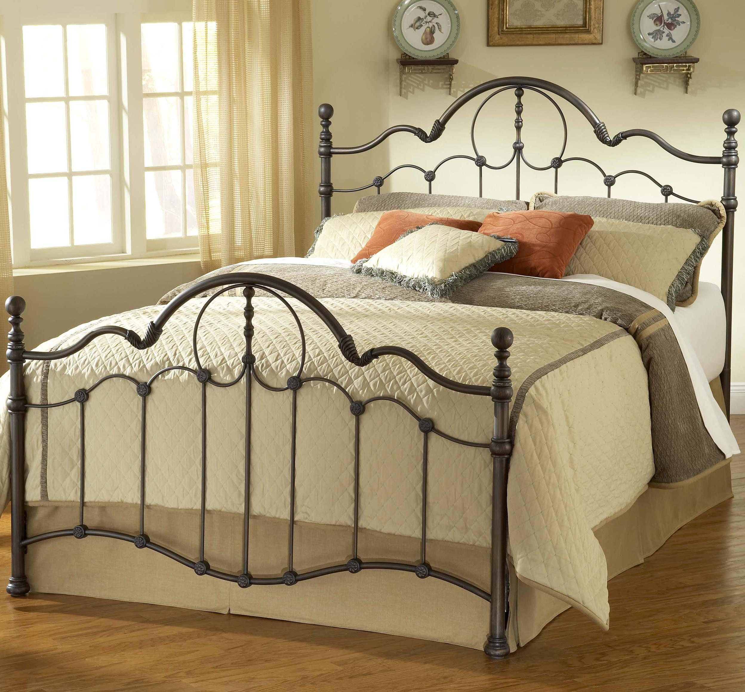 Hillsdale Metal Beds King Venetian Bed - Item Number: 1480BKR