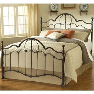 Morris Home Furnishings Metal Beds Queen Venetian Bed