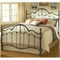 Hillsdale Metal Beds Full Venetian Bed - Item Number: 1480BFR