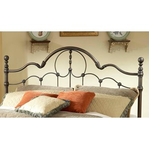 Morris Home Furnishings Metal Beds Full/Queen Venetian Headboard