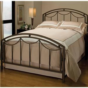 Morris Home Metal Beds Queen Arlington Bed