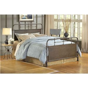 Hillsdale Metal Beds King Kensington Duo Panel