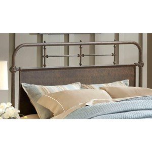 Morris Home Furnishings Metal Beds Full/Queen Kensington Headboard Set