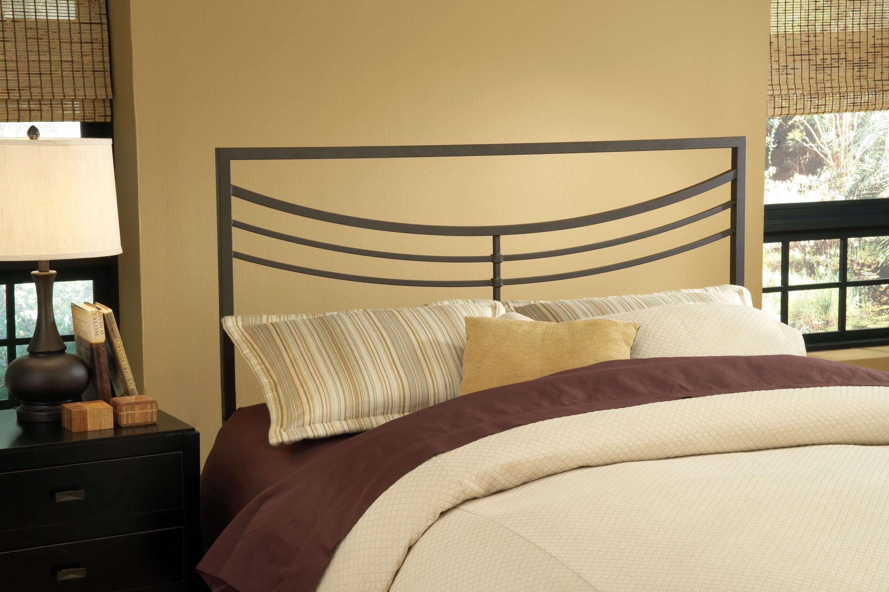 Hillsdale Metal Beds Kingston Full/Queen Headboard with Rails - Item Number: 1503HFQR
