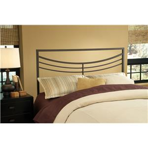 Morris Home Furnishings Metal Beds Kingston Full/Queen Headboard with Rails