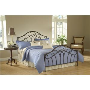 Hillsdale Metal Beds Josephine Queen Bed with No Rails