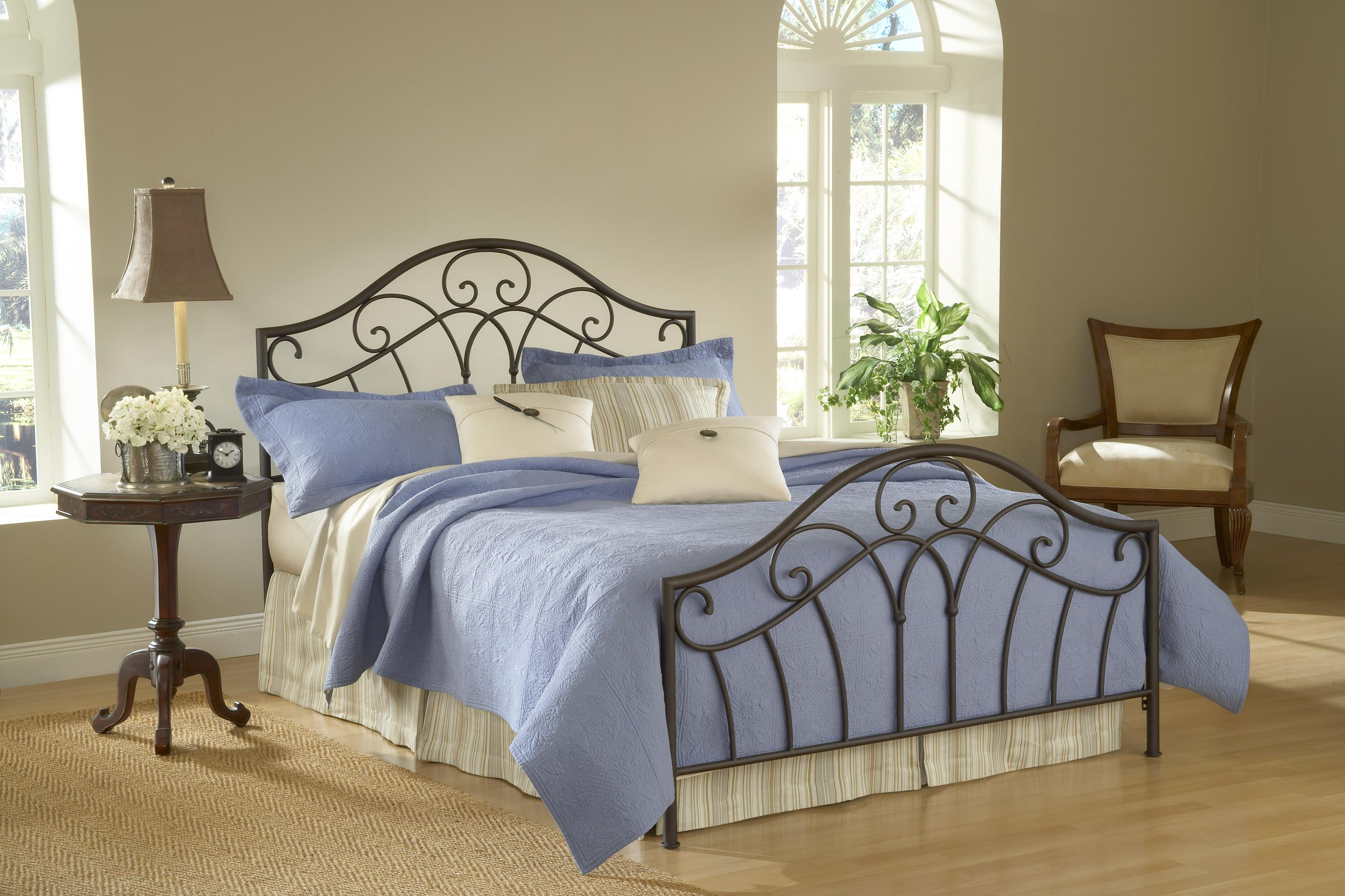 Hillsdale Metal Beds Josephine King Bed - Item Number: 1544BKR