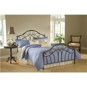 Morris Home Furnishings Metal Beds Josephine Queen Bed