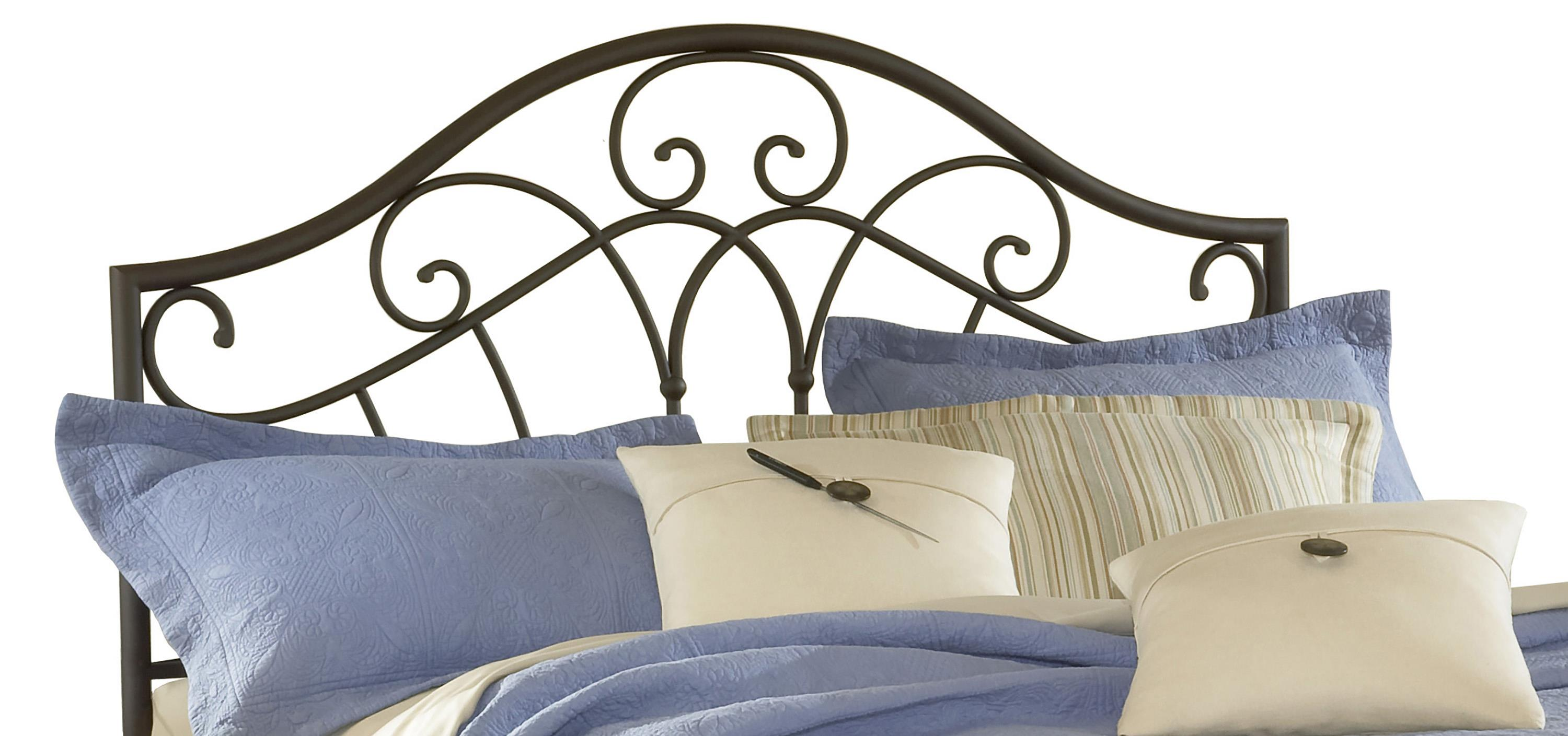 Hillsdale Metal Beds Josephine Full/ Queen Headboard with Rails - Item Number: 1544HFQR