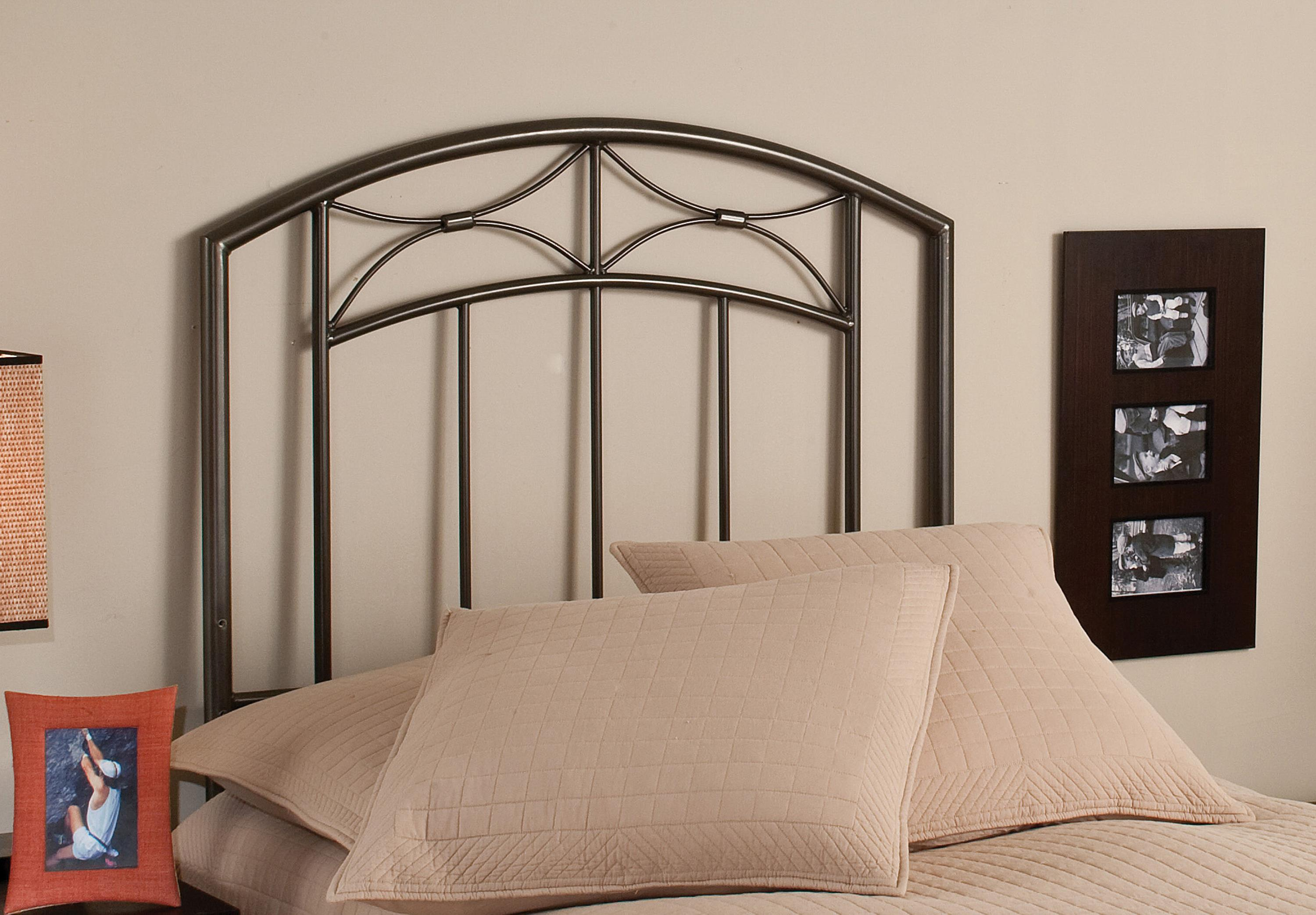 Metal Beds Morris Twin Headboard by Hillsdale at Darvin Furniture