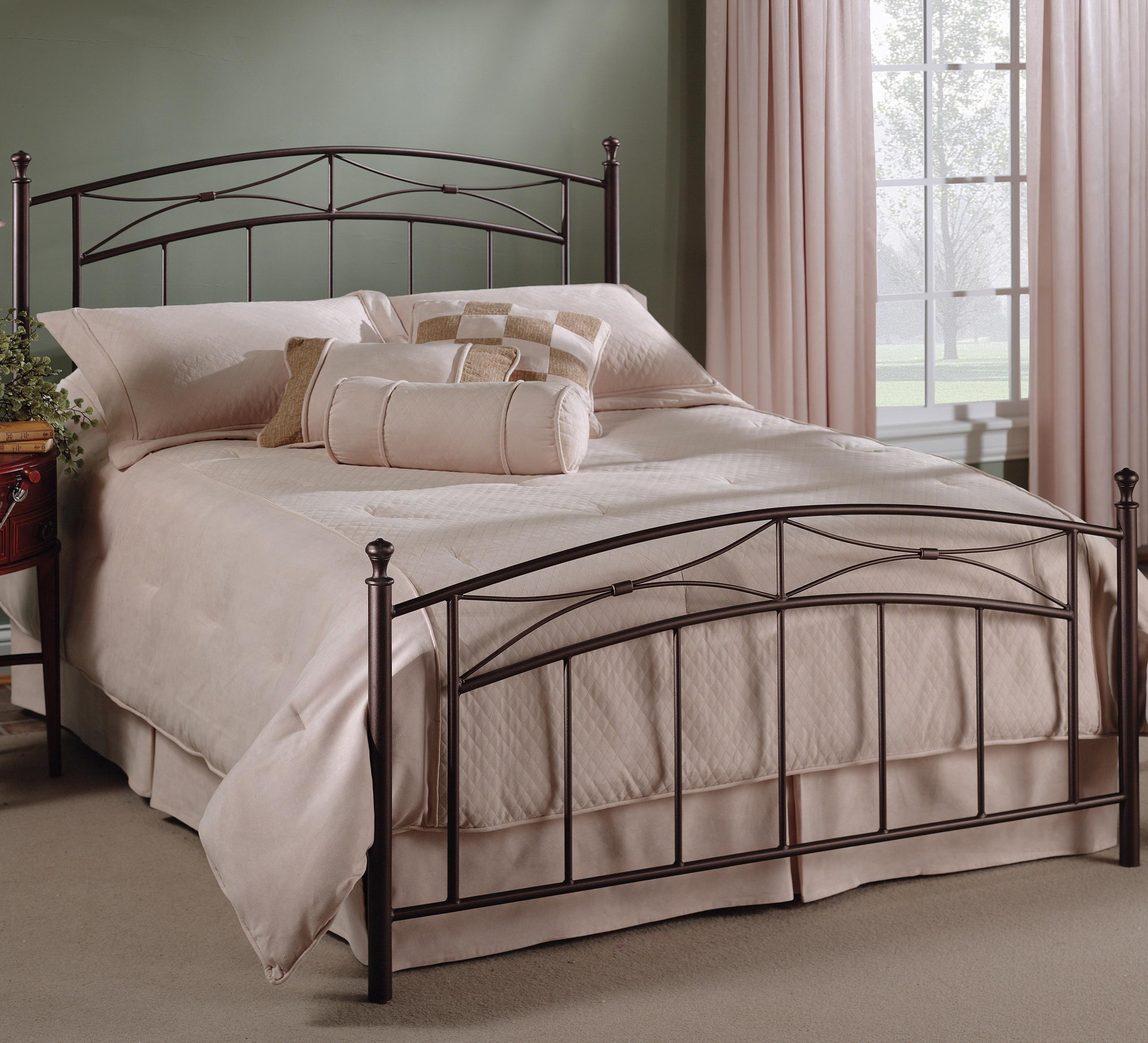 Hillsdale Metal Beds Queen Morris Bed - Item Number: 1545BQR