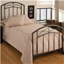 Morris Home Furnishings Metal Beds Twin Morris Bed - Item Number: 1545BTWR