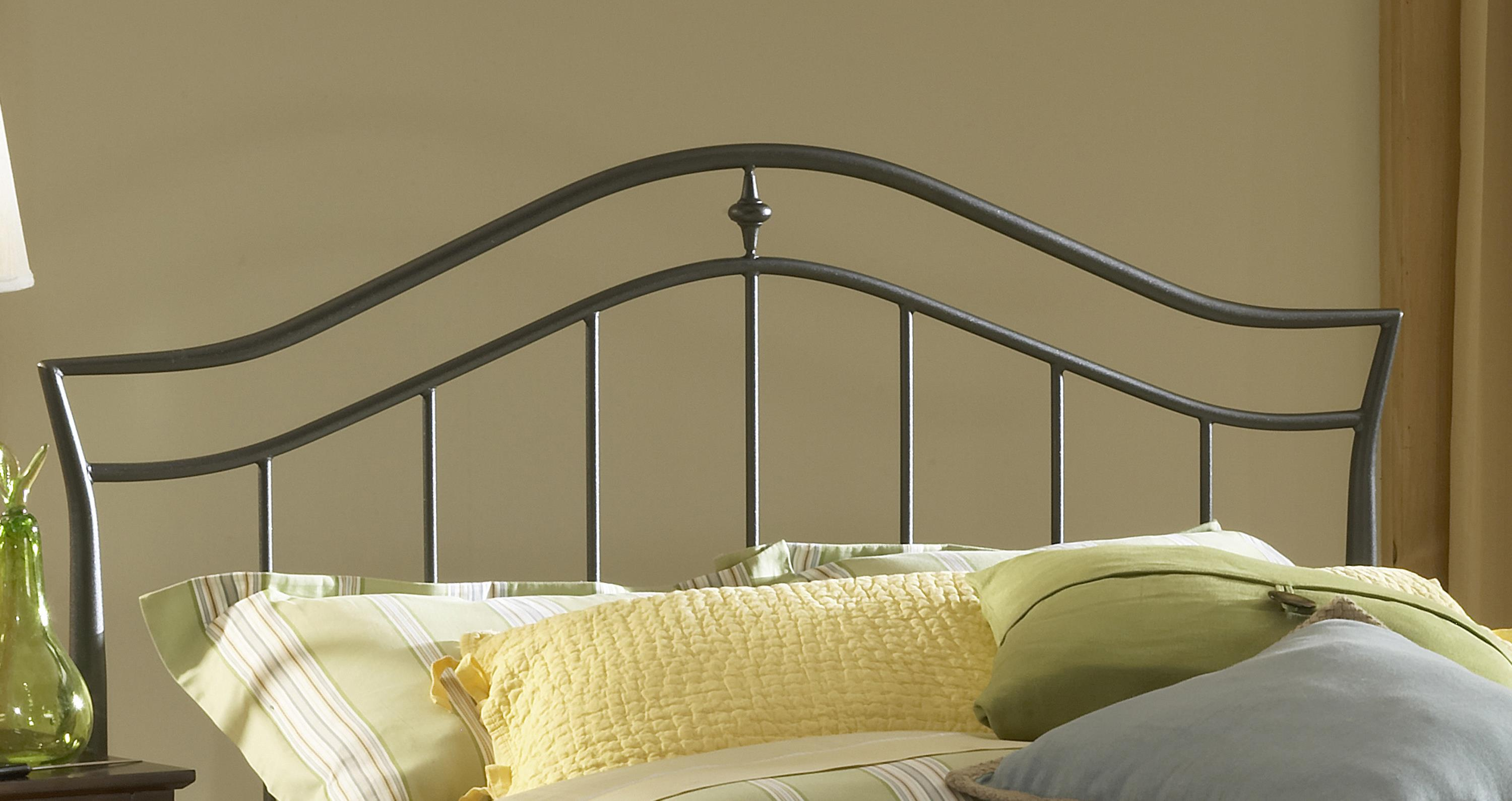 Hillsdale Metal Beds Imperial King Headboard with Rails - Item Number: 1546HKR