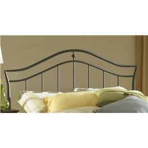 Morris Home Metal Beds Imperial King Headboard with Rails