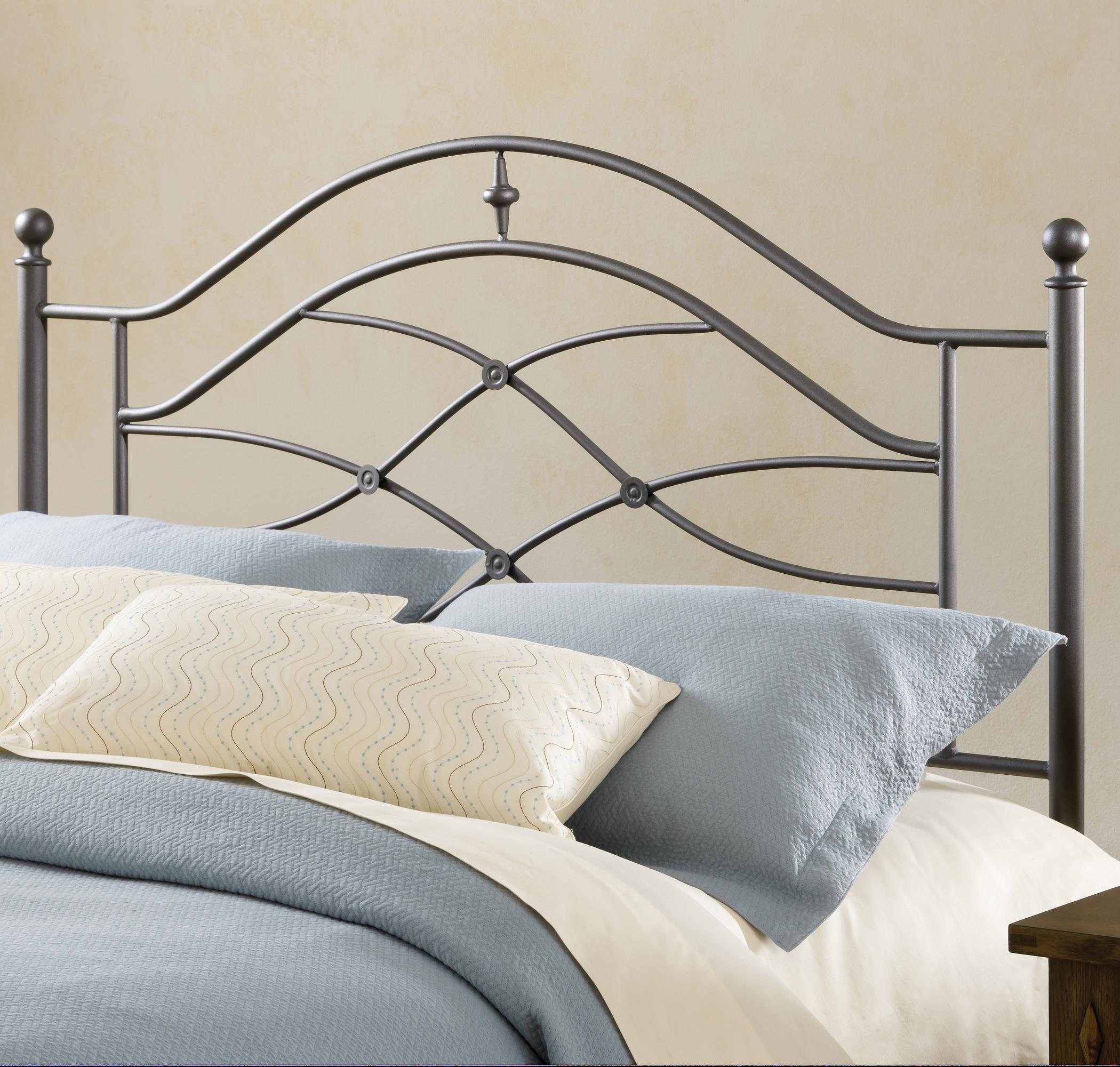 Hillsdale Metal Beds Cole Headboard with Rails - Item Number: 1601HKR