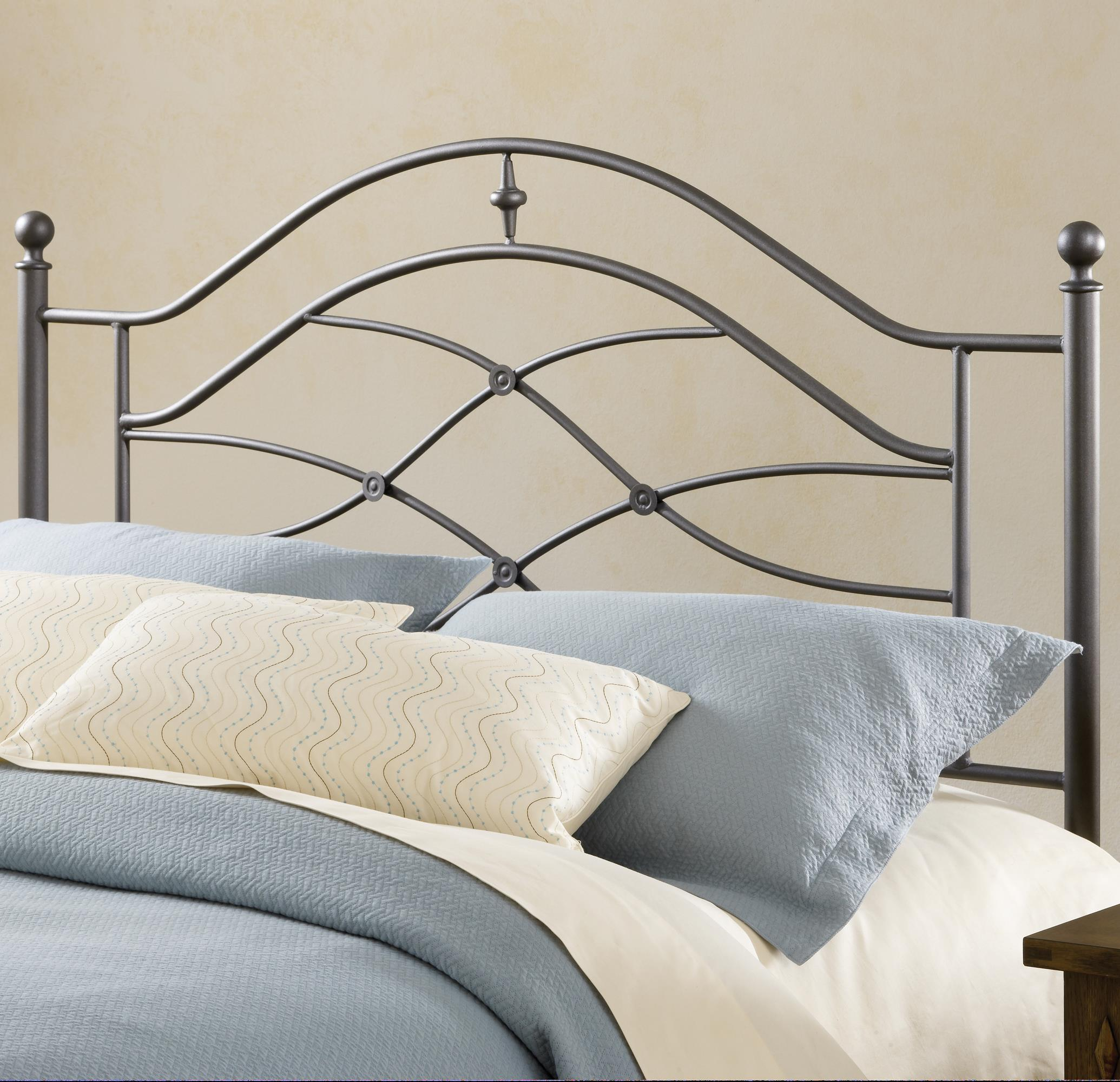 Hillsdale Metal Beds Headboard with Rails - Item Number: 1601HTWR