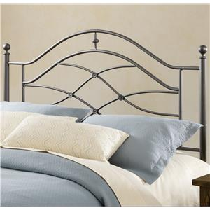 Hillsdale Metal Beds Headboard with Rails