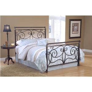 Hillsdale Metal Beds Brady Queen Bed Set