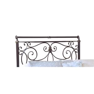 Hillsdale Metal Beds Brady King Headboard with Rails