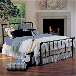 Morris Home Furnishings Metal Beds Queen Janis Bed