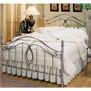 Morris Home Furnishings Metal Beds Queen Milano Bed