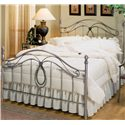 Morris Home Furnishings Metal Beds Full Milano Bed - Item Number: 167BFR