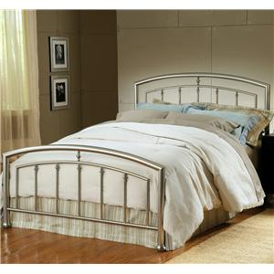 Hillsdale Metal Beds Full Claudia Bed with Rails