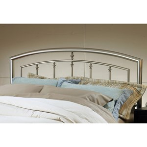 Morris Home Furnishings Metal Beds Full/Queen Claudia Headboard