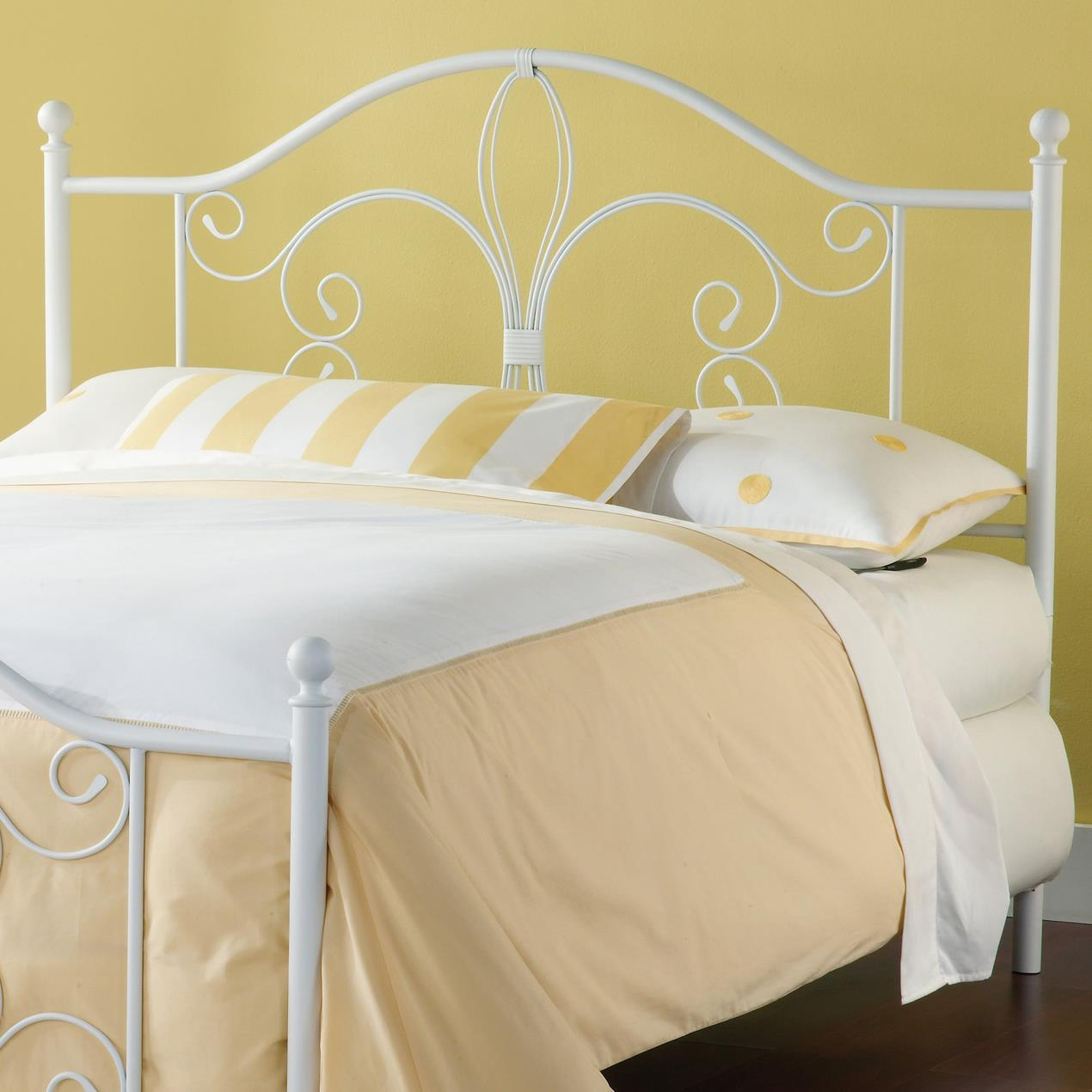 Hillsdale Metal Beds Ruby King Headboard with Rails - Item Number: 1687HKR